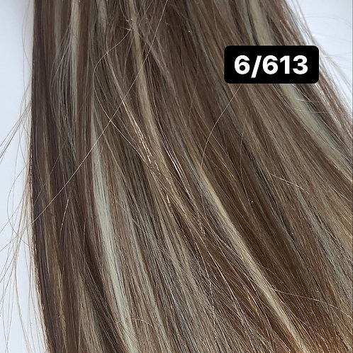 "Straight 22"" Hair Extensions - 6/613"