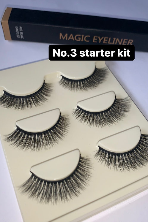 Lash & eyeliner starter Kit No.3
