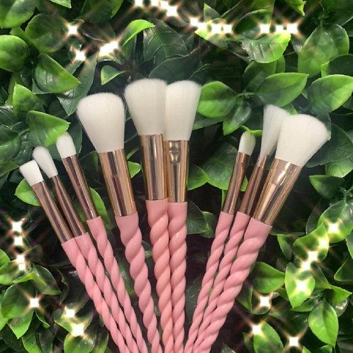 Pink Unicorn brushes