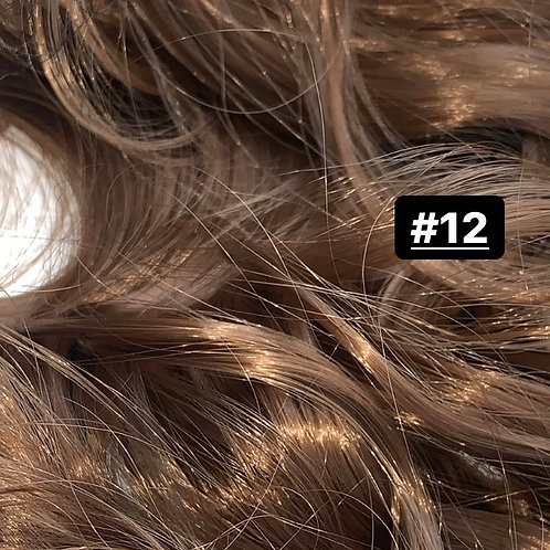 "Curly 22"" Hair Extensions - 12"