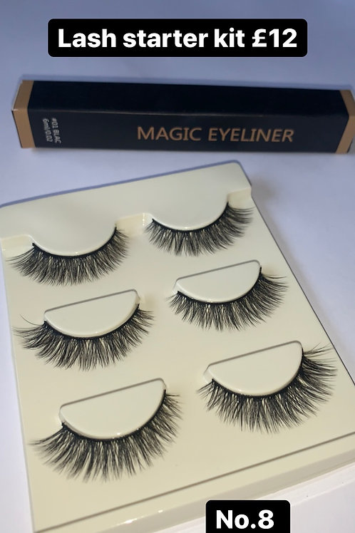 Lash & eyeliner starter Kit No.8