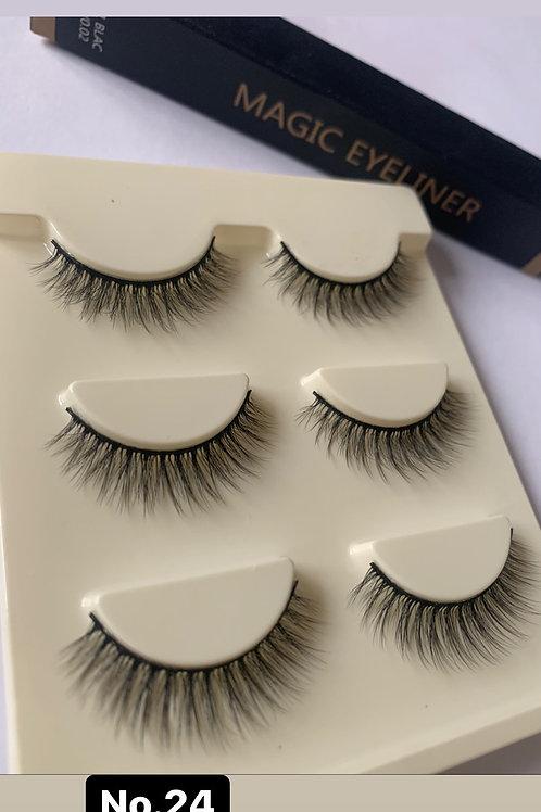 Lash & Eyeliner starter Kit No.24