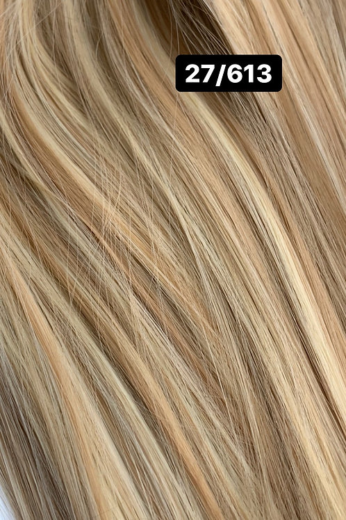 """Straight 22"""" Hair Extensions - 27-613"""