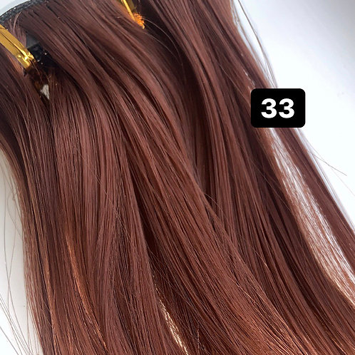 "Straight 22"" Hair Extensions - 33"