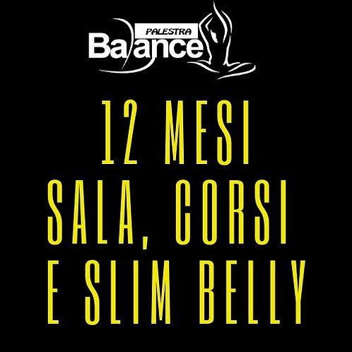 12 MESI - SALA CORSI E SLIM BELLY