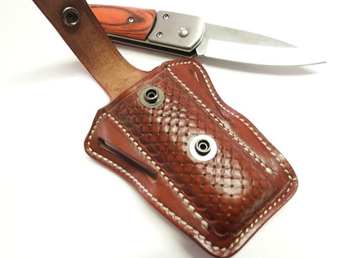 ETUI « L.SHOVEL » pour couteaux pliants