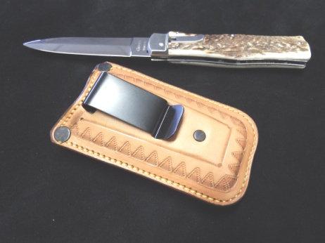 ETUI  « CLIP ON » pour couteaux pliants