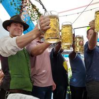 Lederhosen, Dirndl, Beer, Food, & Games