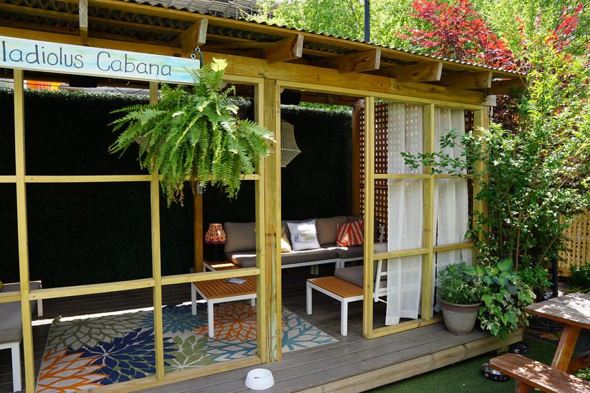 The Gladiolus Cabana