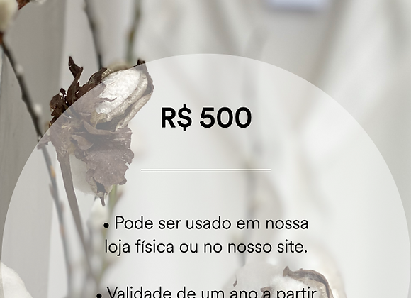 Vale Presente - R$ 500