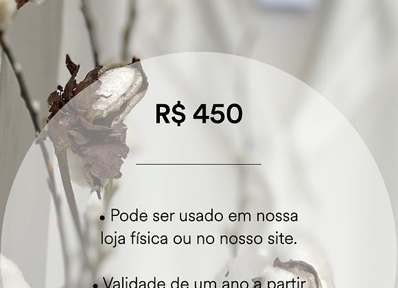 Vale Presente - R$ 450