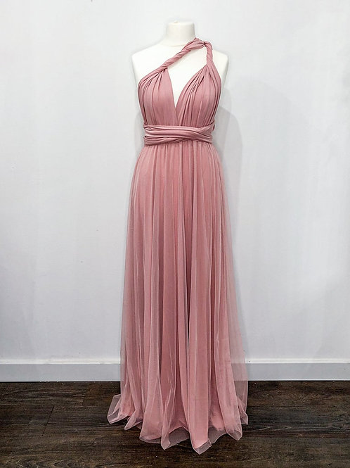 Dusky Pink Multiway with Tulle