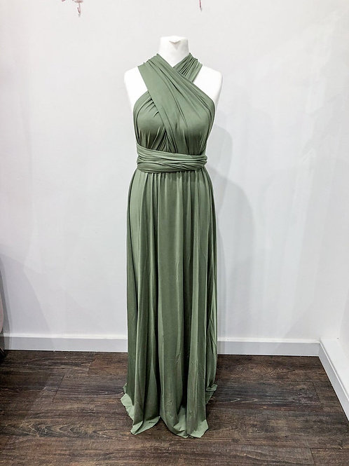 Olive Multiway with Tulle