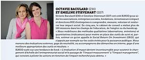 Emeline Stievenard Octavie Baculard Kimso Reflets ESSEC Magazine
