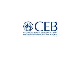 Logo CEB Council of Europe Development Bank Kimso