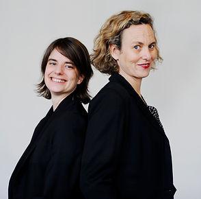 L'équipe KiMSO, Octavie Baculard et Emeline Stievenart, expertes en impact social