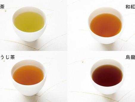 緑茶に紅茶にウーロン茶。何が違うの?