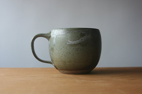 12oz Mug in Blue Green Satin