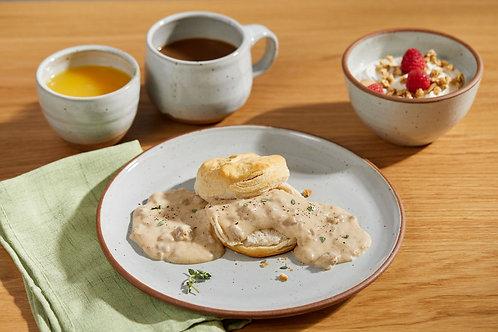 Dinner Plate in Chun White