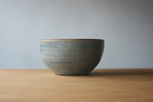 Salad Bowl in Rutile Blue