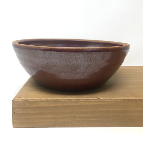 Serving Bowl in Tomato Red