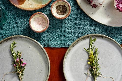 Dinner Plate in Grey