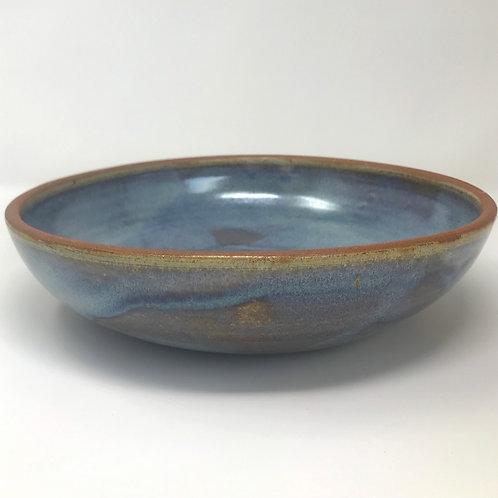 Serving Bowl in Rutile Blue