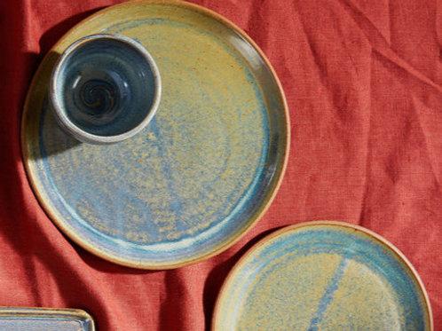 Dinner Plate in Rutile Blue