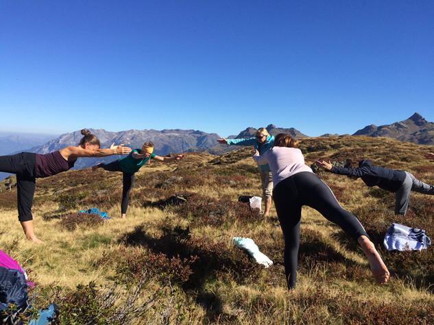 Yogawanderung zur Leglerhütte