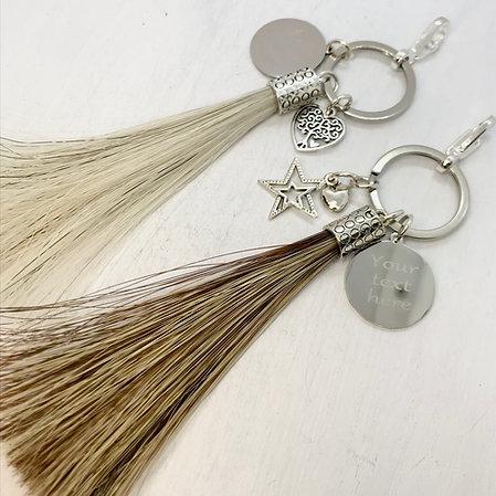 Medium Horse Hair Tassel Key-ring