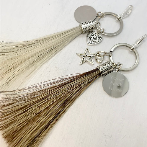 Medium Horse Hair Tassel Key-ring
