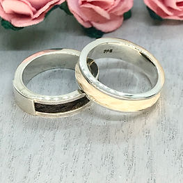 Horse hir seling silverring keepsake jewellery