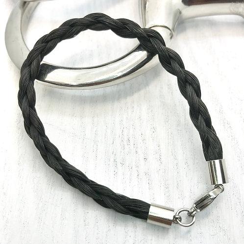4 Strand Stainless Steel, Horse Hair Bracelet
