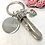 Thumbnail: Solid Resin Drop Key-ring with Flower or Butterfly