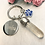 Thumbnail: Solid Resin Drop Key-ring with Fur, Hair or Ashes