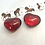 Thumbnail: 'Hold me close' resin heart containing fur, hair or ashes