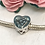 Thumbnail: Sterling Silver Heart Beads  Suitable For Hair, Fur or  Ashes