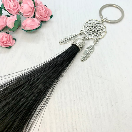 Large Dreamcatcher Horse Hair Tassel