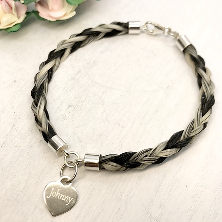2 Section Sterling Silver Bracelet with Tag