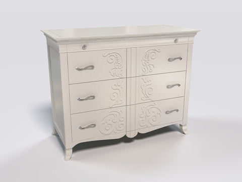 3D Furniture Rendering for the chest of drawers (manufacturer:Keoma Dania)