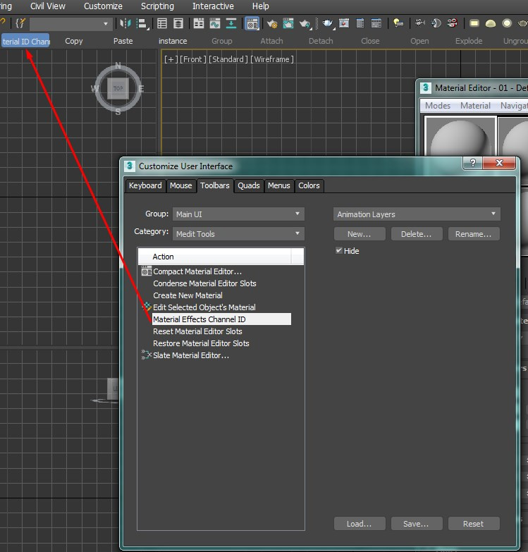 Creating the button for EffectsChannelEx plugin in 3DS Max