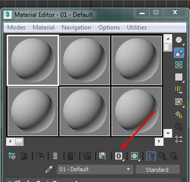 Though the material can be more than 15, it reflects as 0 in the 3DS Max Material Editor