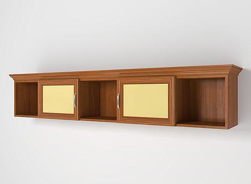 3D Rendering for the children's room shelves