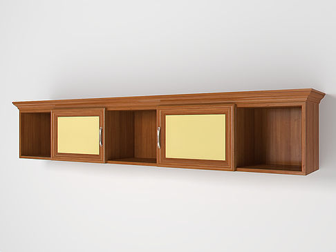 3D Rendering for the children's room shelf