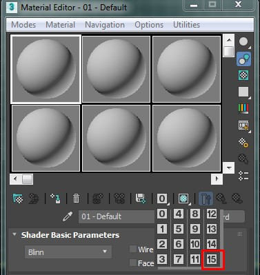 By default you can assign only 16 Material IDs in 3DS Max