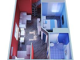 3D Floor Plan Rendering Portfolio