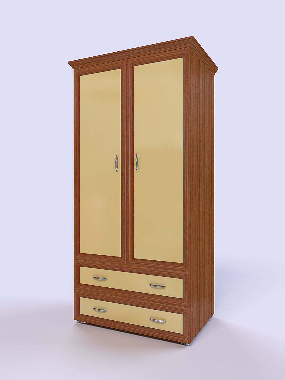 3D Rendering of the cabinet