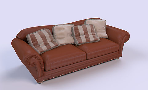 3D Rendering for the sofa