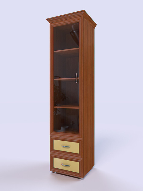 3D Rendering for the bookcase
