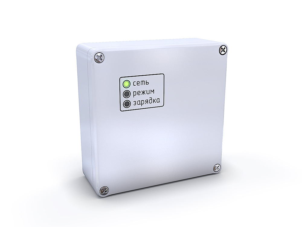 3D product rendering of the control unit